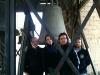 Noi del GCA col Campanone della Cattedrale