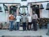 Noi del GCA con i gratelli Marinelli alla fonderia